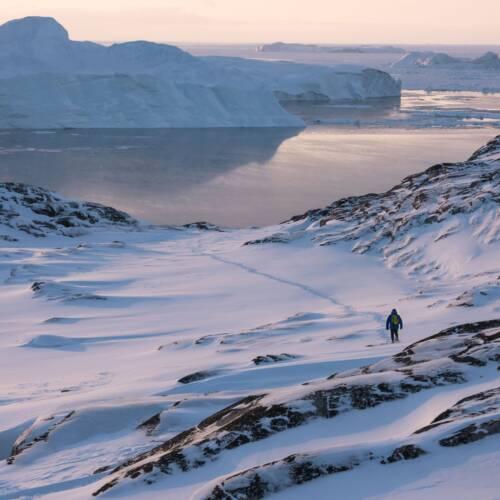 Greenland - Island cold sun